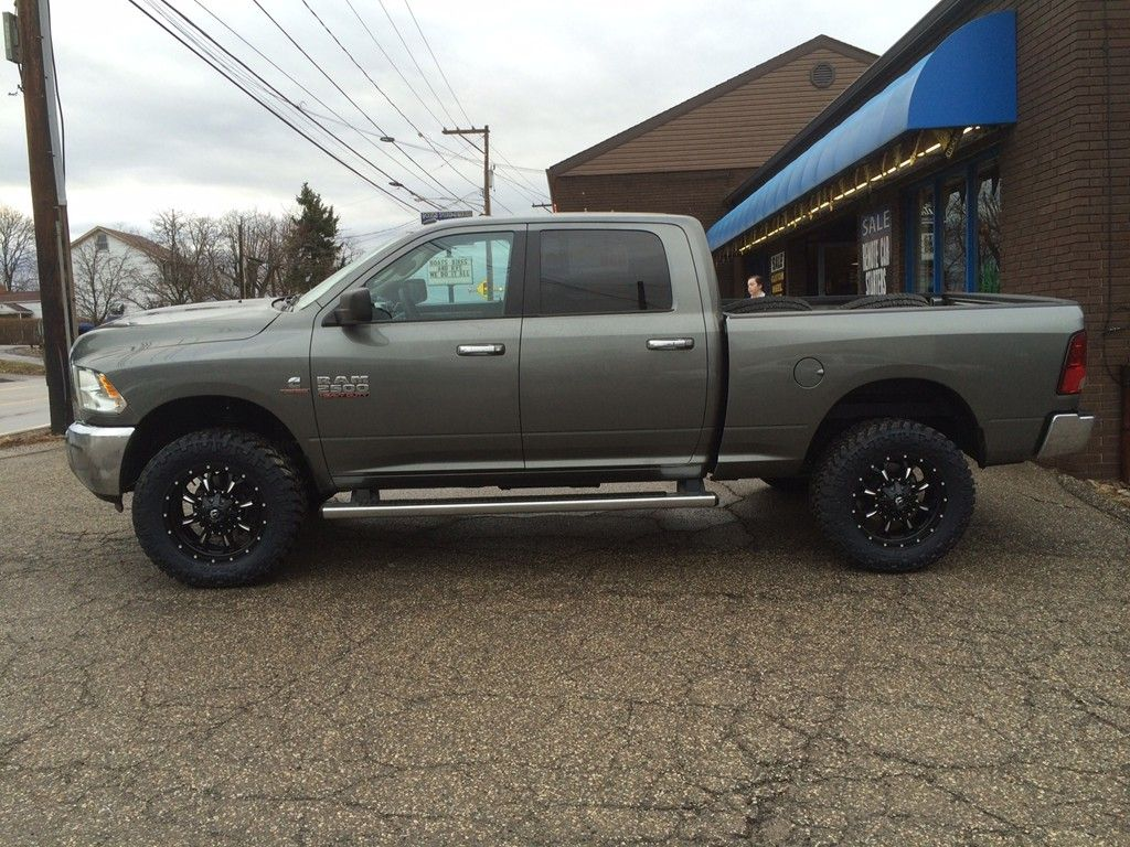 2013 Ram 2500 With Readylift Leveling Kit Fuel Offroad Krank Wheels 2014 Dodge 20x9 35x1250x20 Nitto Trail Grappler Tires R 04081401