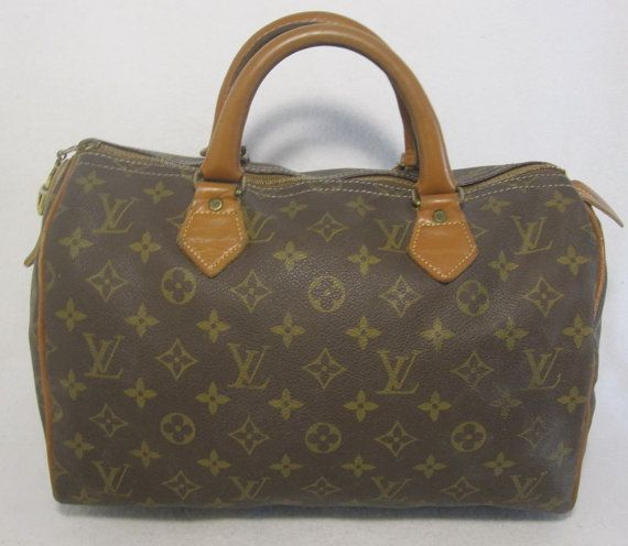 rare LOUIS VUITTON VINTAGE french company speedy by OLDVINTAGESTOP ... eef56070bc2f5