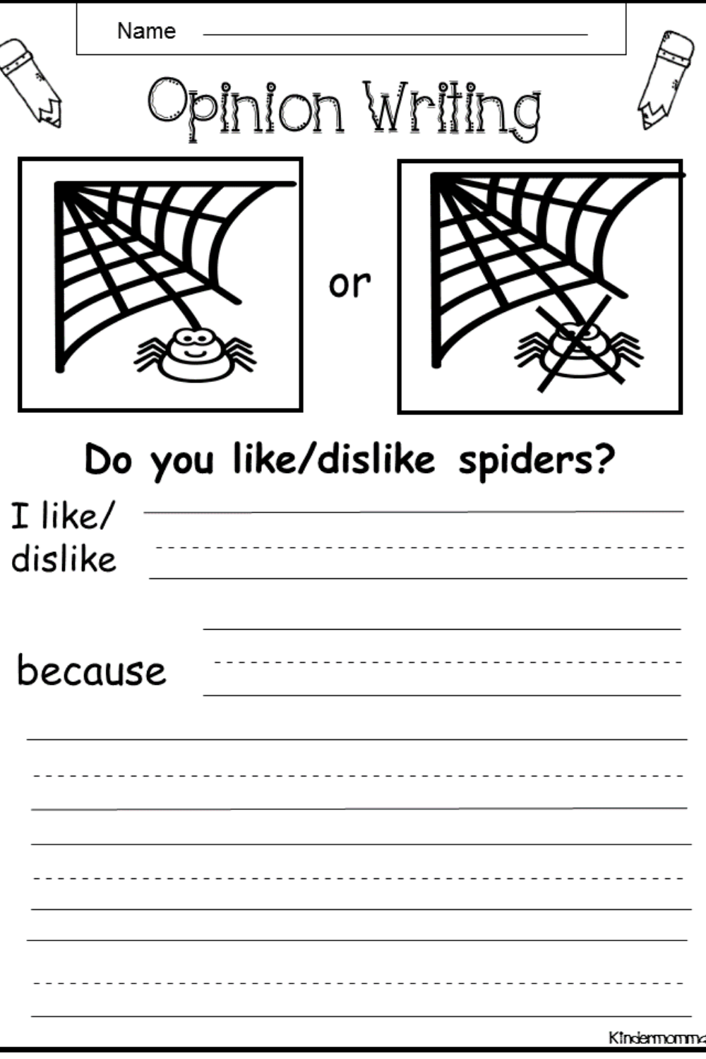 How To Teach Opinion Writing For Kids Kindermomma Com Opinion Writing Phonics Words Kindergarten Literacy Worksheets [ 1500 x 1000 Pixel ]