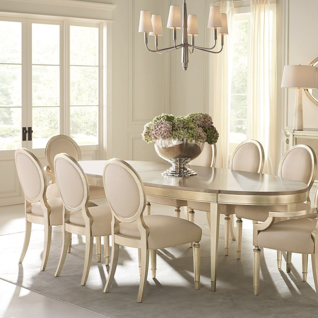 Caracole A House Favorite Dining Table In 2021 Dinning Room Table Decor Round Dining Room Sets Oval Table Dining