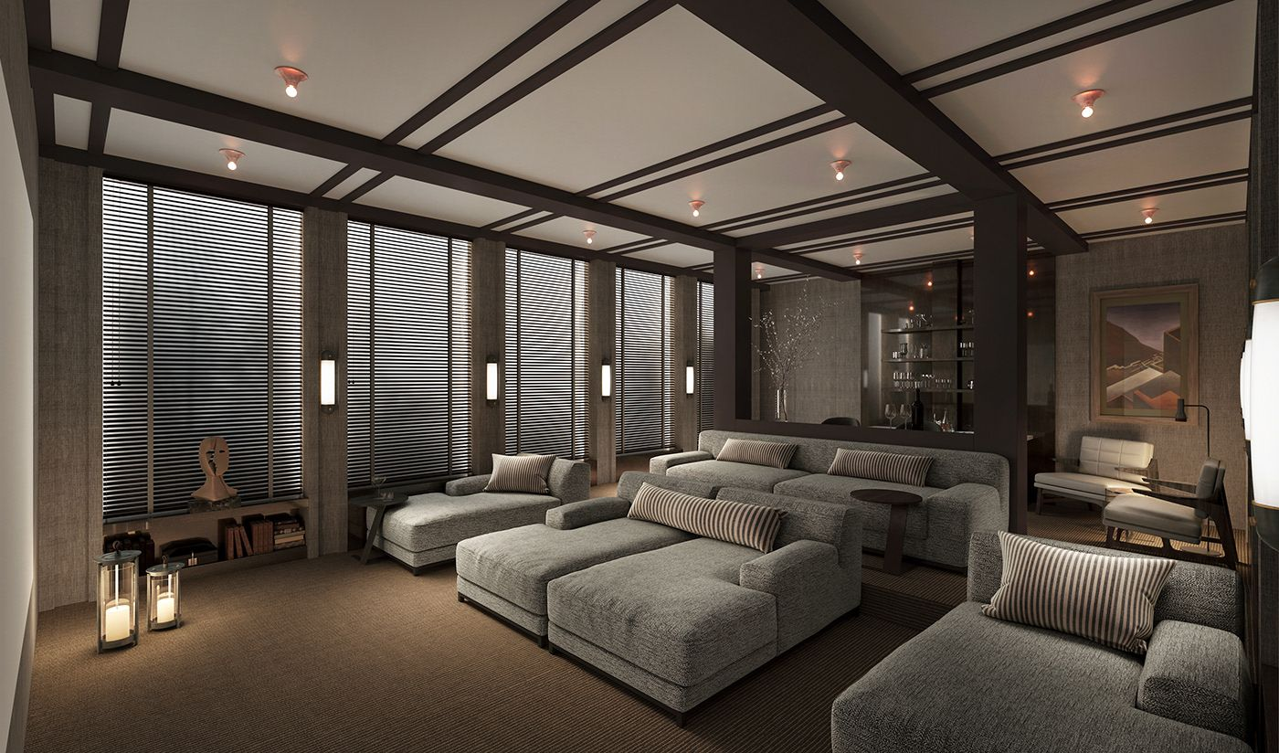 Behance For You Home Theater Room Design Home Cinema Room Home Theater Seating
