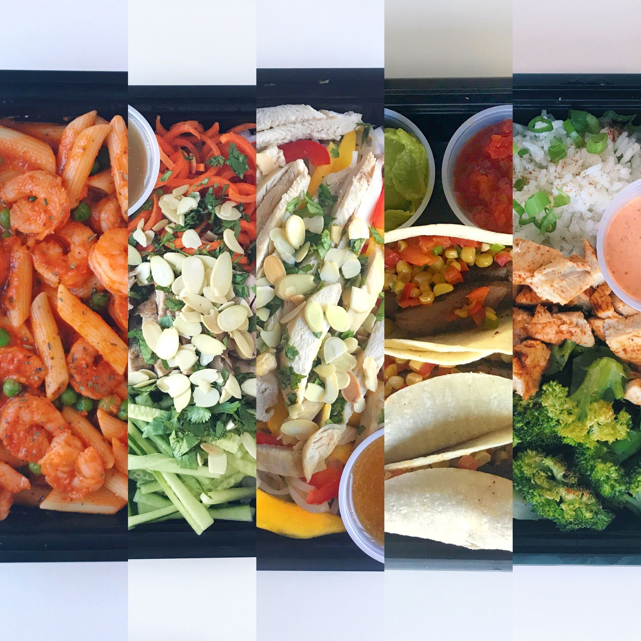 10 Meal Vegetarian Pescetarian Meal Package High protein