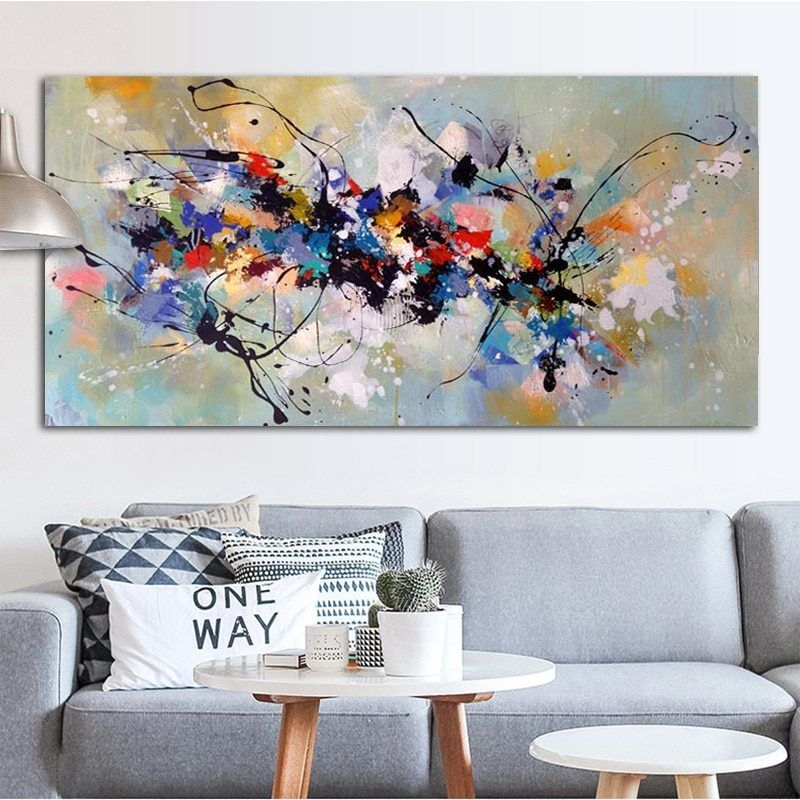 Abstract Art Oil Painting Canvas Painting Wall Pictures For Living