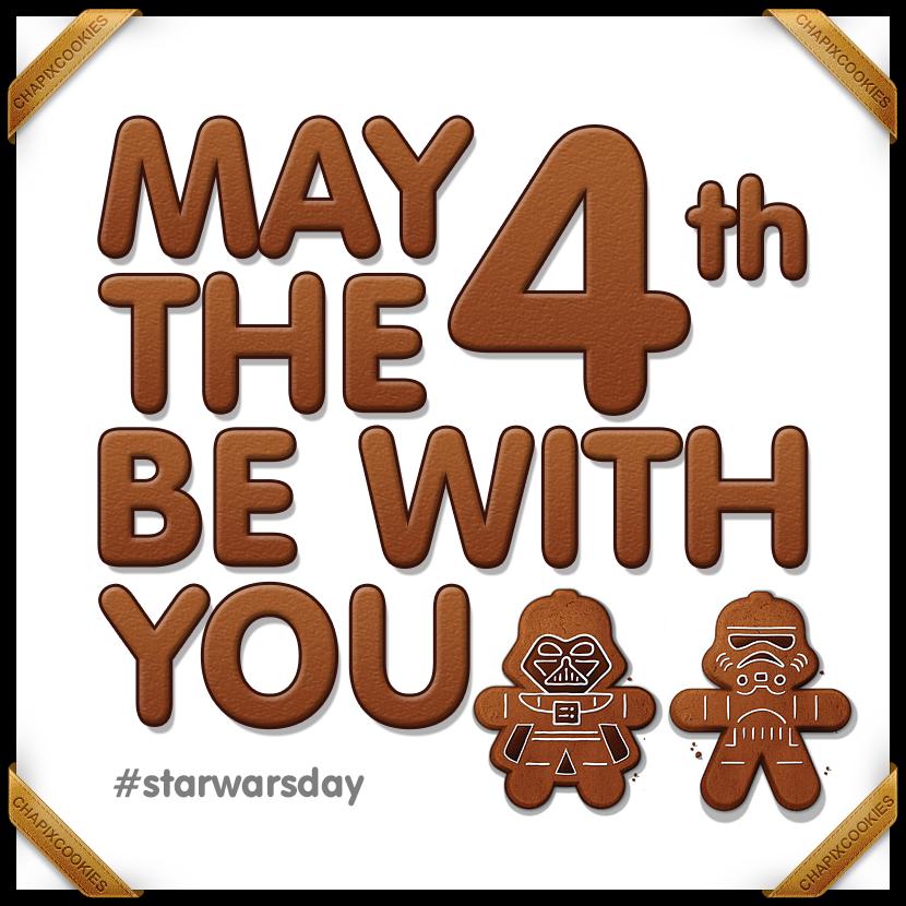#MayThe4thBeWithYou ⭐️ #StarWarsDay ⭐️ #StarWars