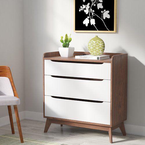 Best Cravens 6 Drawer Double Dresser Mid Century Modern 400 x 300