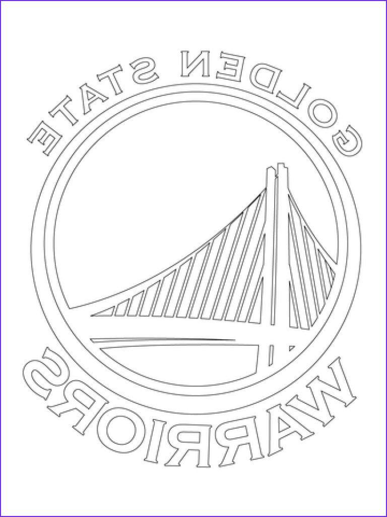Golden State Warriors Coloring Page Cool Coloring Pages Golden