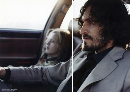 xwg:  Vincent Gallo and Karen Elson by Michael Sanders for...