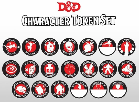 Irresistible image with regard to d&d printable monster tokens