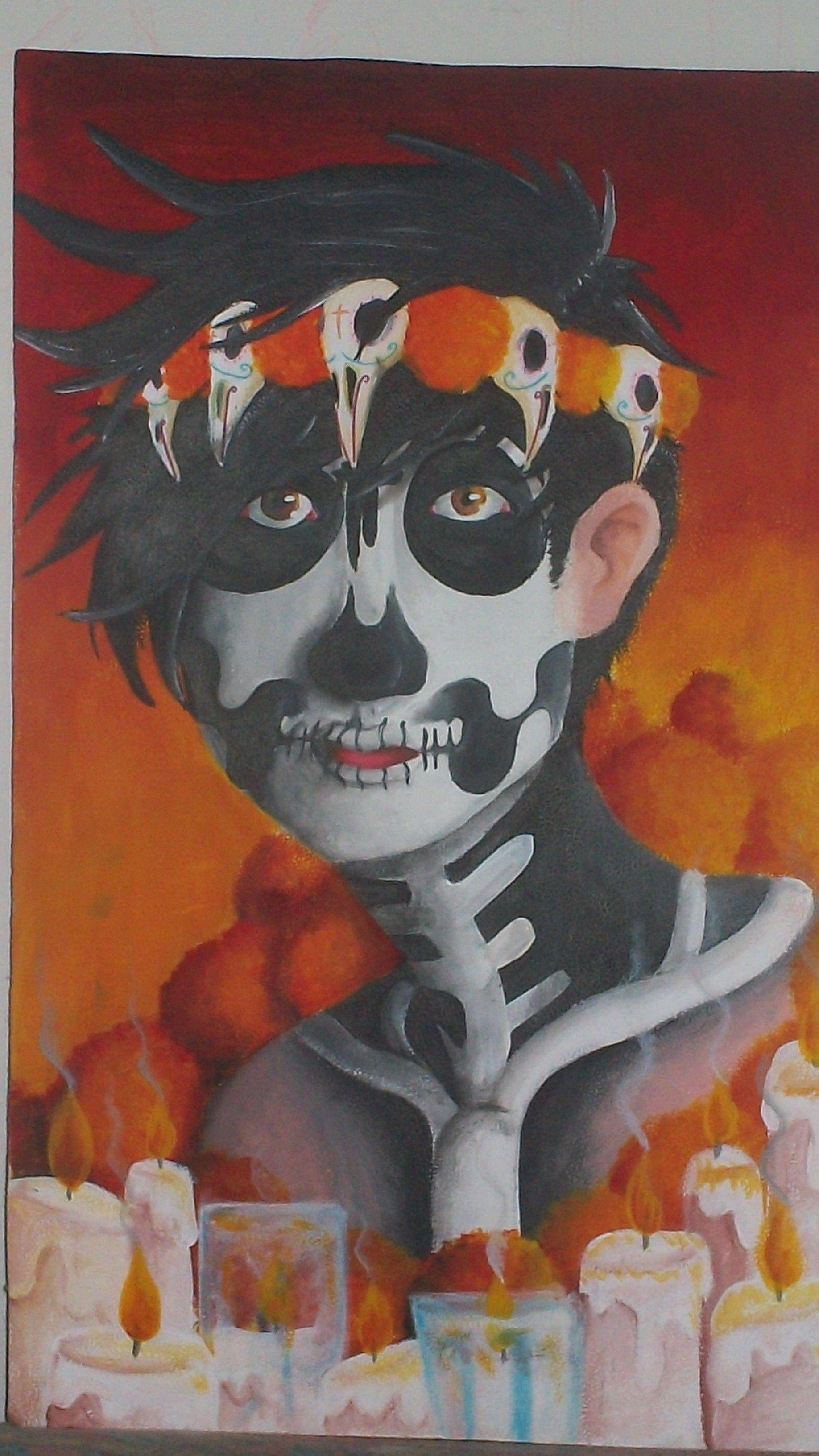 retrato muerte