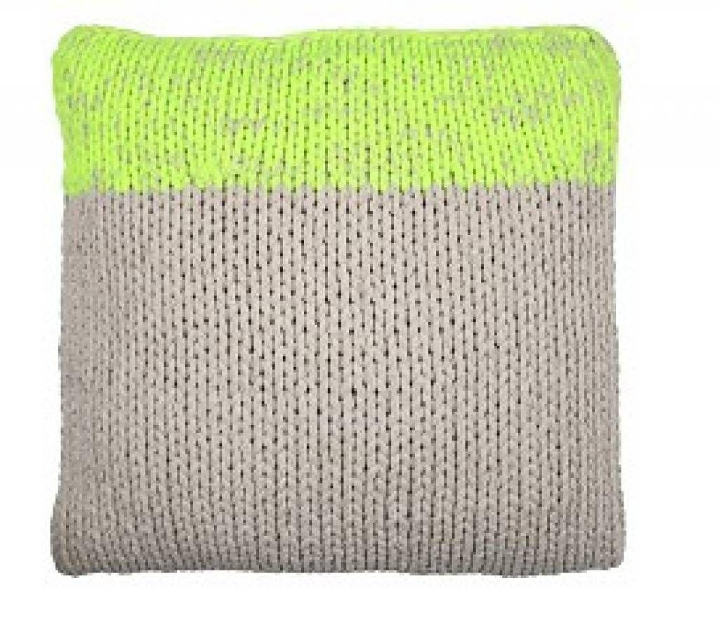 Hk living knitted pillow knitting pinterest knit pillow