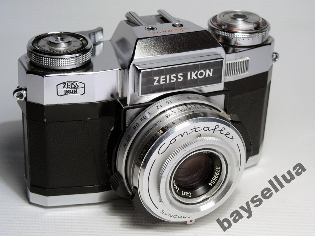 Zeiss Ikon Contaflex c Carl Zeiss Tessar 2 8/50 | Cafrinho