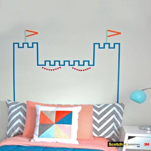 5 cabeceros de cama que te encantarán | Washi tape, Washi and Kids rooms