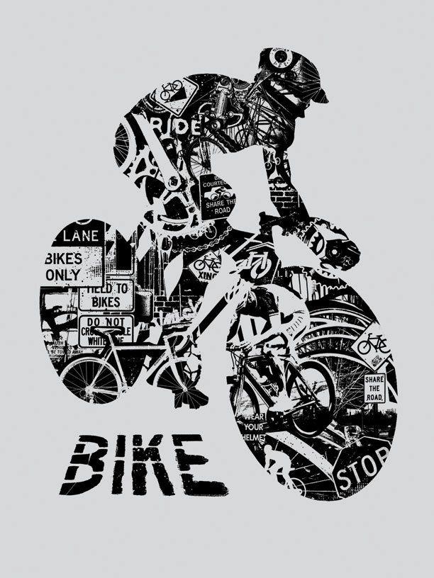 Bici anatomia bicicletta grigia giro casco gara massa di gigart ...