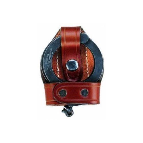 Aker Leather A603-BP Black Bikini Hinged ASP Cuff Handcuff Case