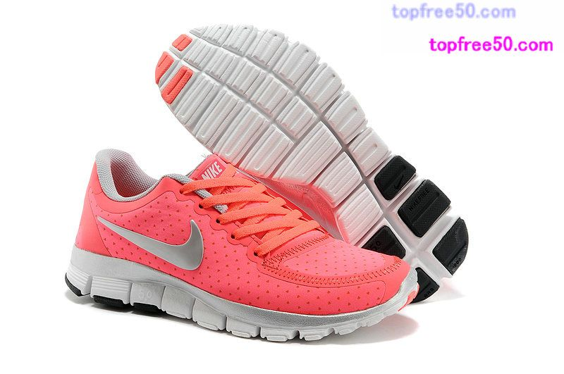 the latest 8924e 6088c 50% off Nikes  49.99,Nike Free 5.0 V4 Womens Hot Punch Reflective Silver  511281 618