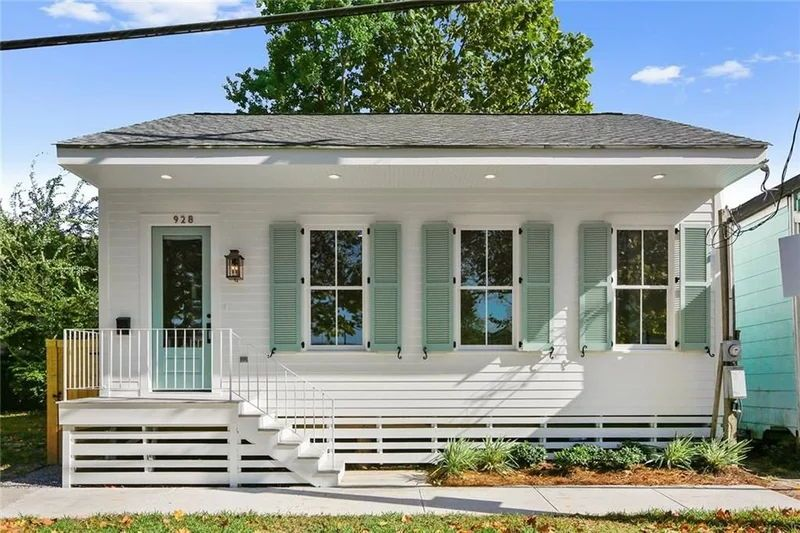 The Sweetest New Orleans Cottage We've Ever Seen Hits the Market for $225,000 #beachcottagestyle