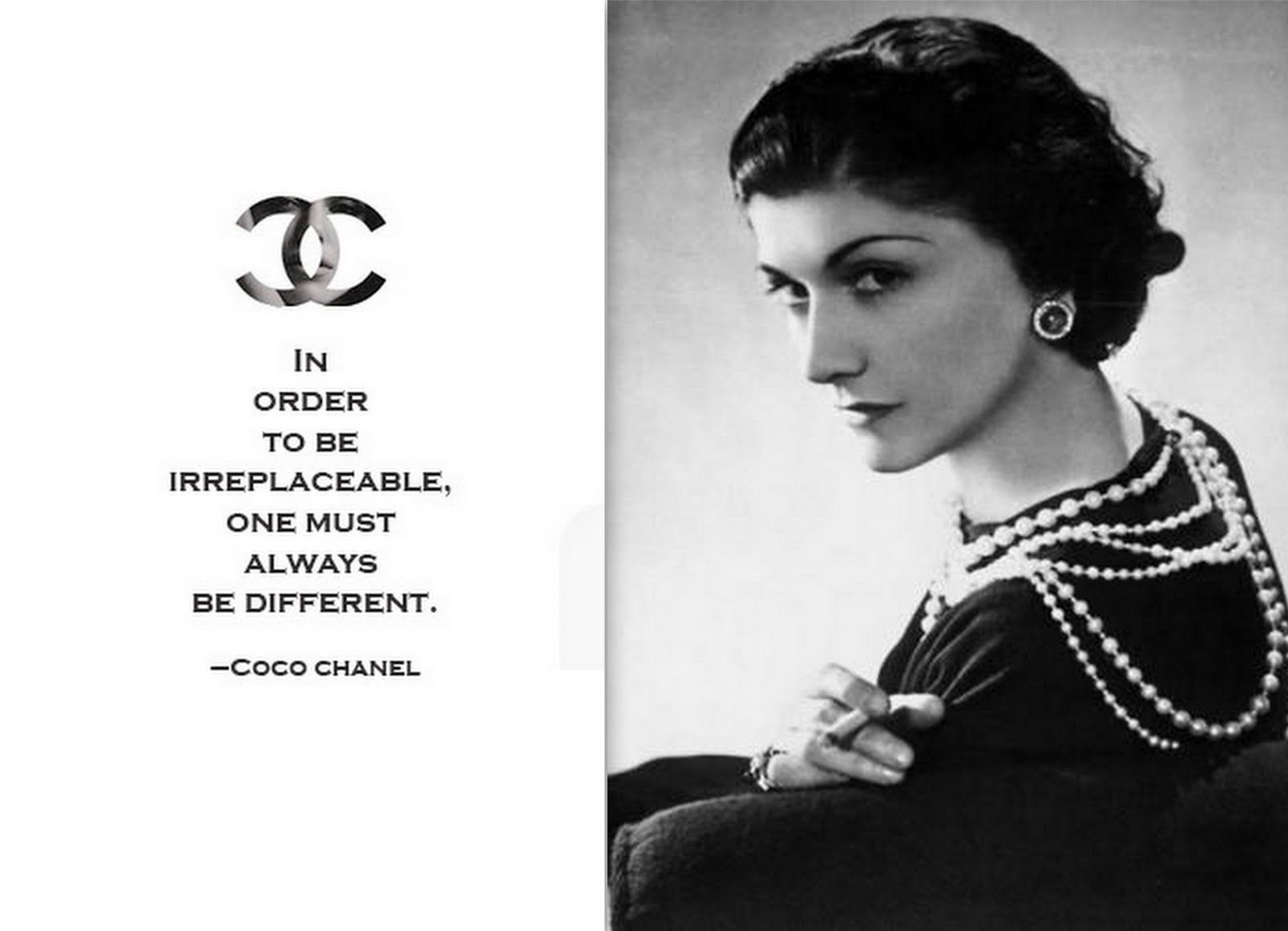 Pin By Sarah Babich On Strong Women Life Quotes Coco Chanel Quotes Chanel Quotes Fashion Designers Famous