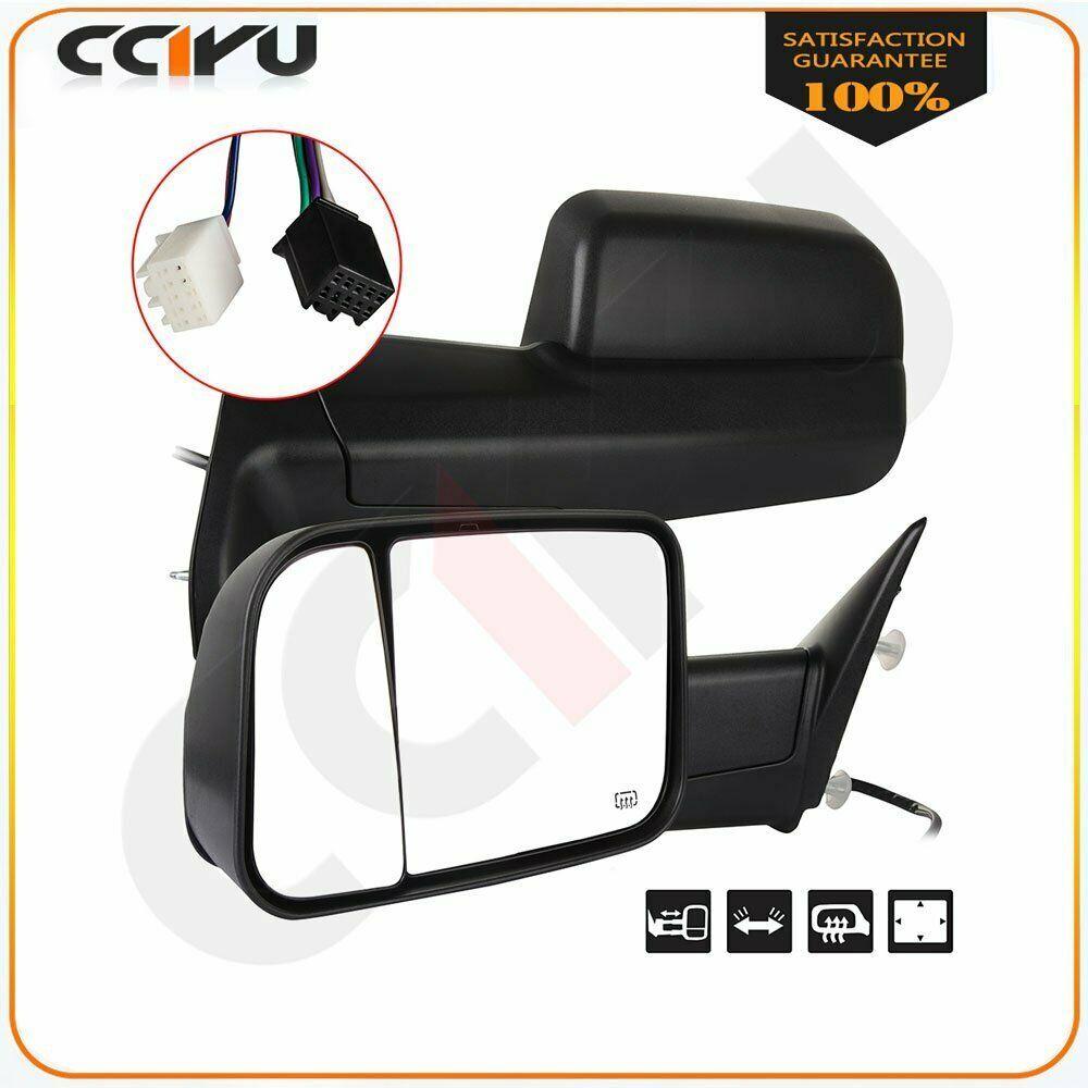 Sponsored Ebay Power Heated Towing Mirror For 2009 2015 Dodge Ram 1500 Side View Mirrors Pair 2015 Dodge Ram 1500 Dodge Ram 1500 Ram Trucks
