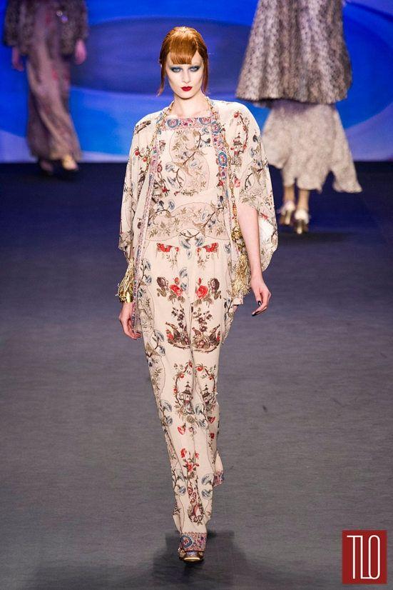 Anna Sui Fall 2014 Collection | Tom & Lorenzo Fabulous & Opinionated