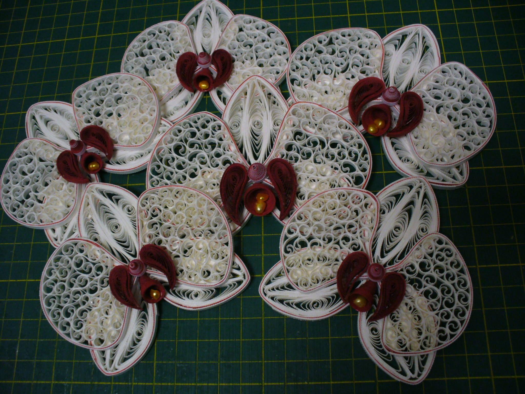 орхидея квиллинг фото авиация
