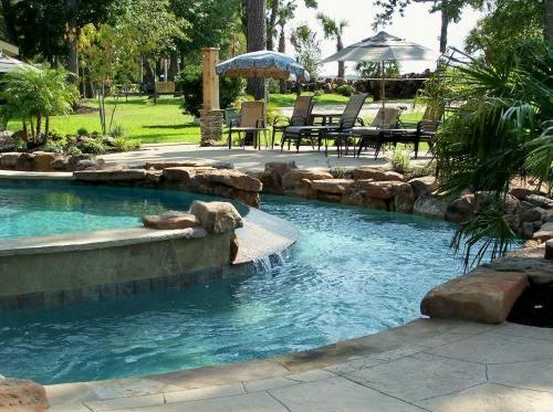 Lazy River Swimming Pool Design U0026 Construction | Backyard Oasis