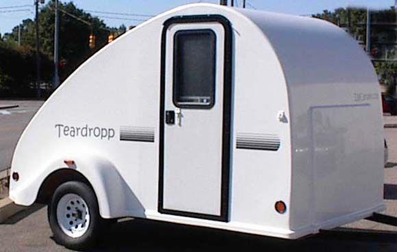 Eggcamper Teardropp small travel trailer Camping Pinterest