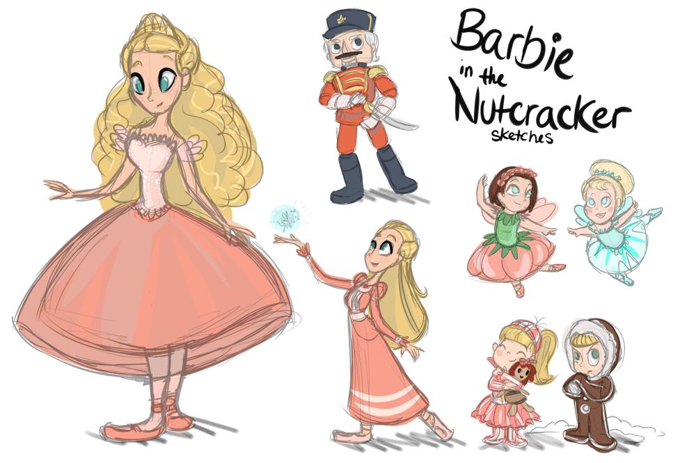 barbie in the nutcracker movie   Tumblr   Ballet   Pinterest   Dibujo