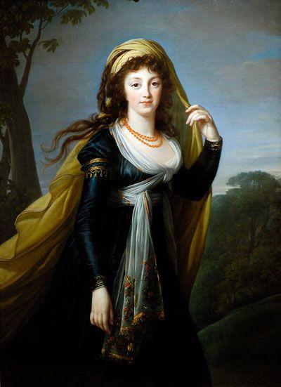 Elisabeth Vigée Lebrun : La comtesse Theresa Kinski 1793 - | Élisabeth vigée  le brun, Portrait, Portrait féminin
