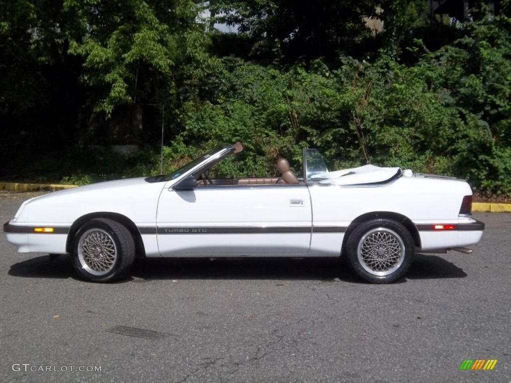 Chrysler Le Baron Convertible White