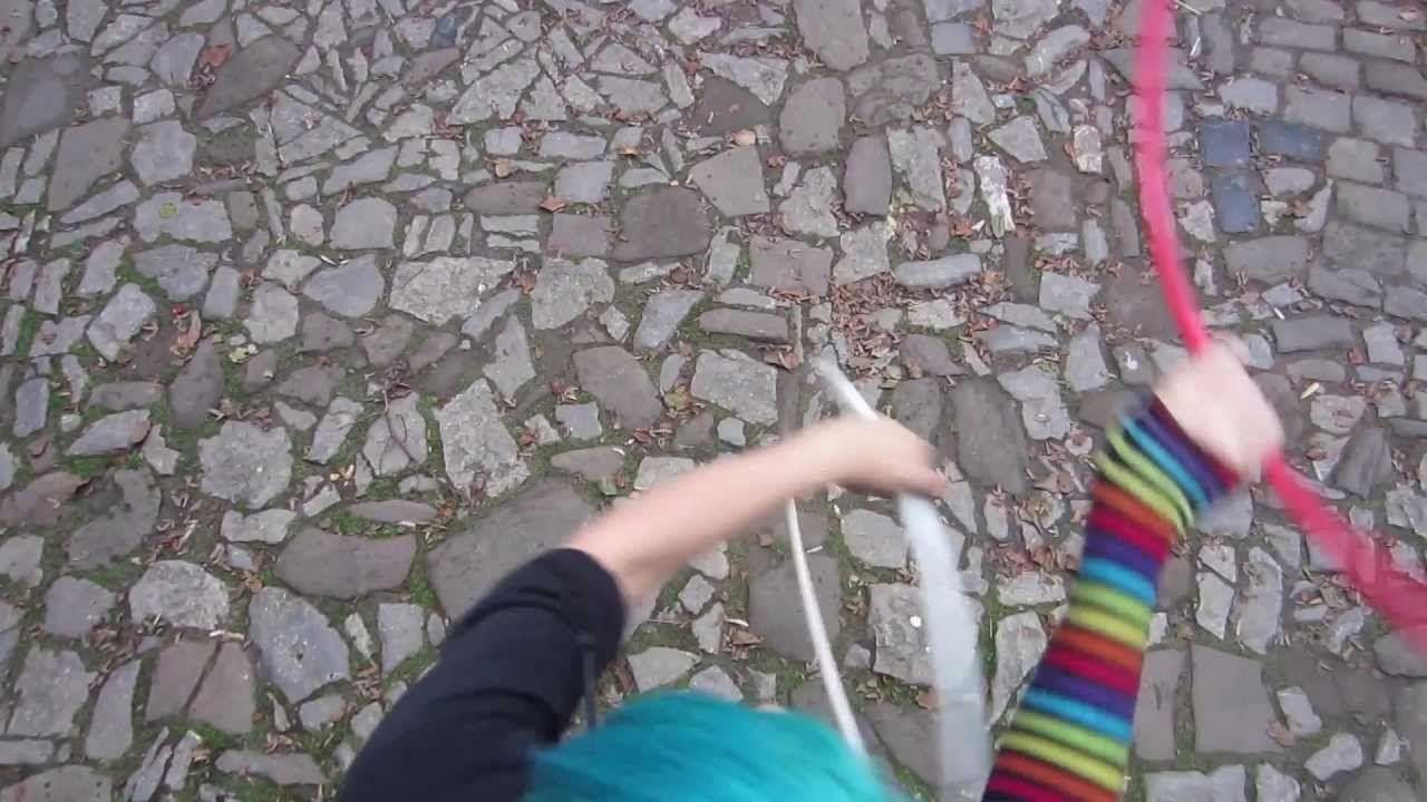 Reverse 3 beat weave twin hoop tutorial from emma kenna youtube.
