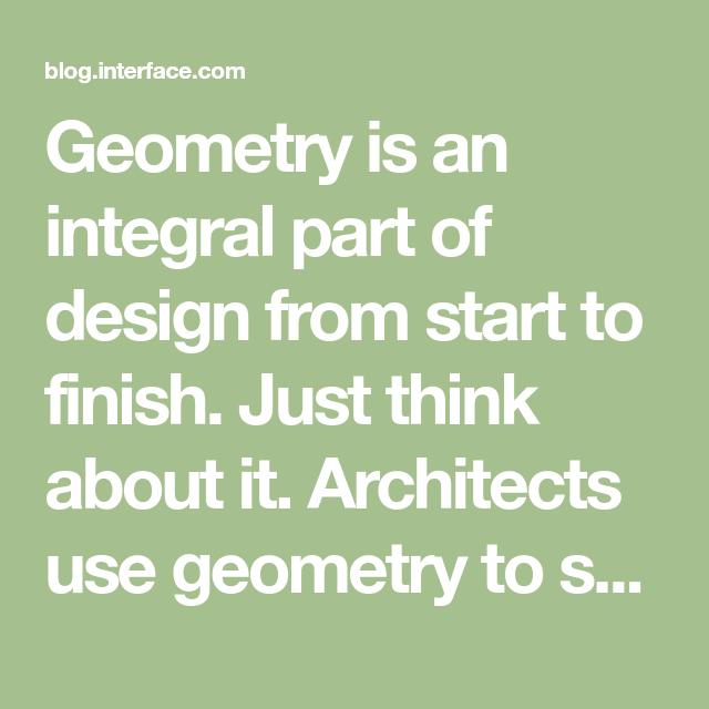 how do engineers use geometry