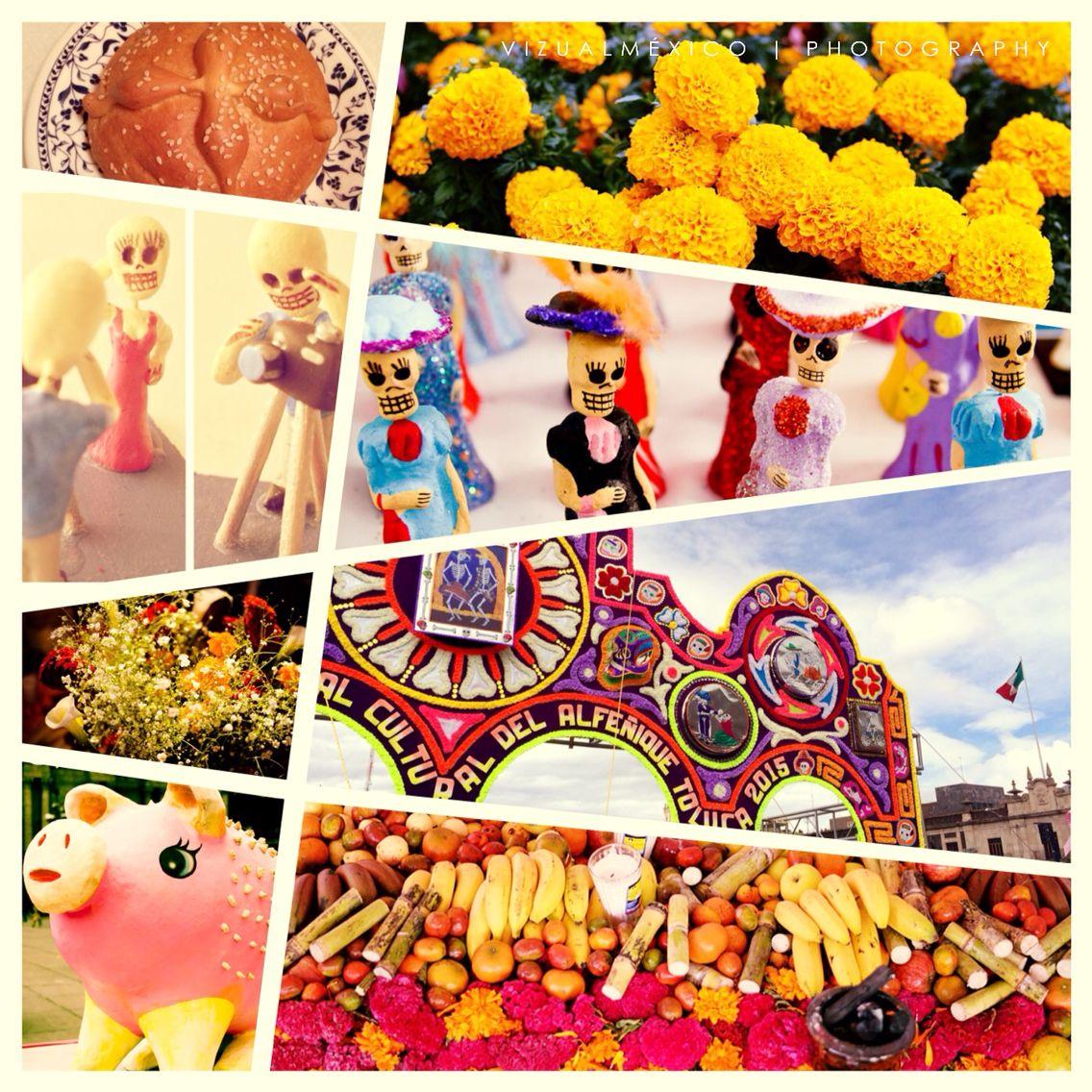 Se nos terminó el puente y los festejos de #díademuertos pronto les compartiremos más imágenes en nuestra web, por lo pronto despedimos la temporada con este collage, hasta el próximo año #feriadelalfeñique #FestivaldelasAlmas #2denoviembre!!!