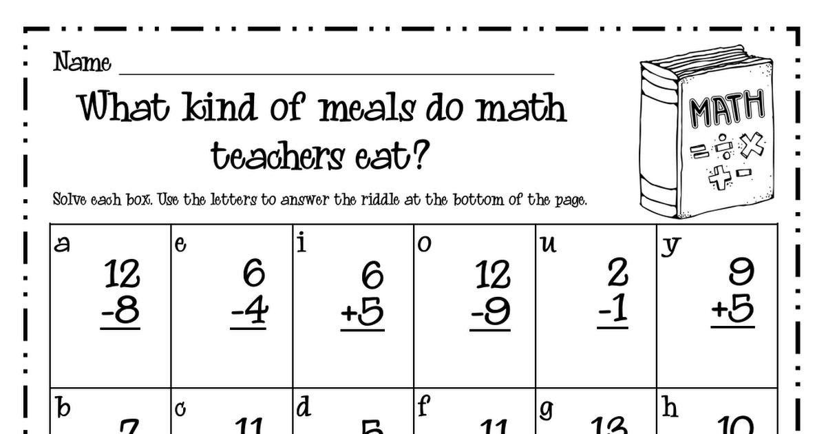 Math Riddle.pdf Math riddles, Riddles, Math teacher