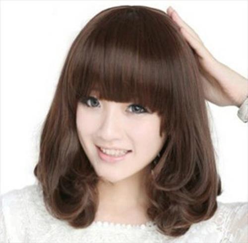 Popular Hairstyles 2015 lily collin medium wavy hair Hair Styles Newcom Latest Medium Hairstyles For Korean Girls Hair Popular Hairstyles2015