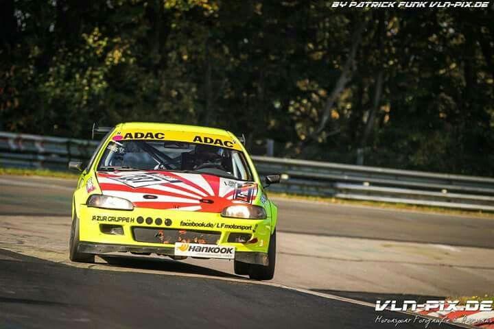 Timo Lang Civic Jdm Nordschleife Nurburgring Nordschleife