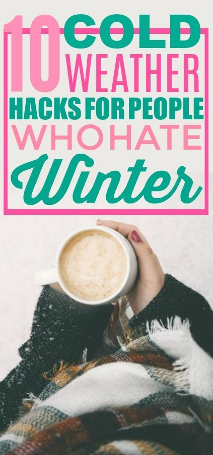 10 Cold Weather Hacks That'll Make Your Life Easier -   14 DIY Clothes Winter life hacks ideas