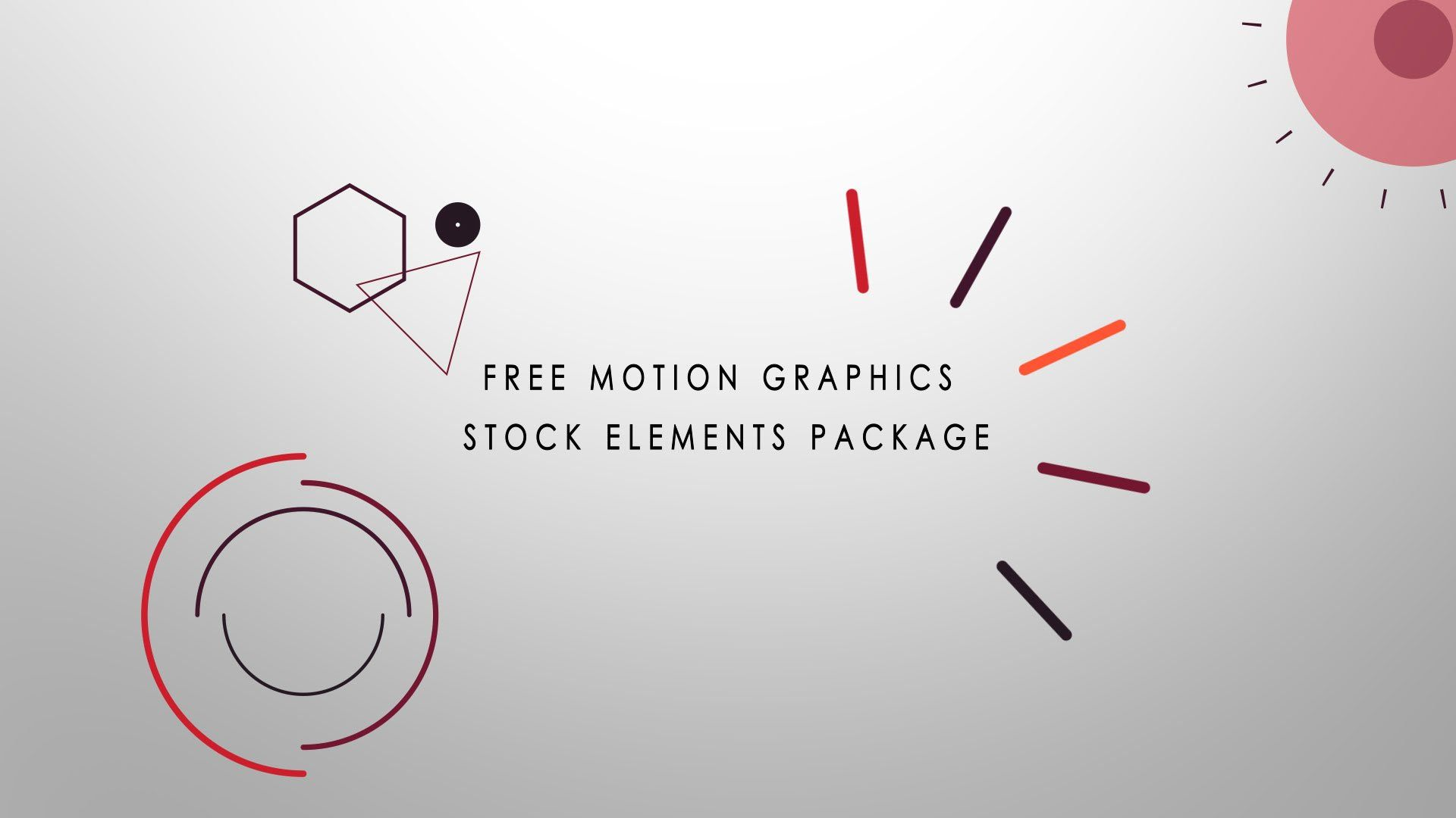 Download this pack here for Motion 4 templates free download