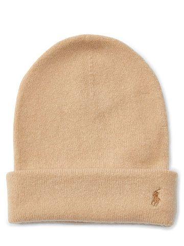 1a2c5f18282e25 Polo Ralph Lauren Mütze aus Stretch-Kaschmir - Polo Ralph Lauren Hüte - Ralph  Lauren Deutschland