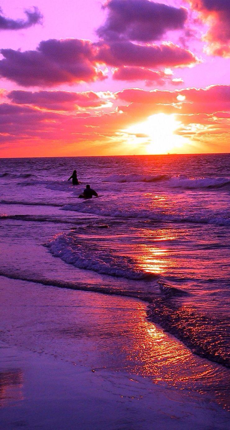 Setting Sun Beautiful Sunset Nature Photography Beautiful Landscapes