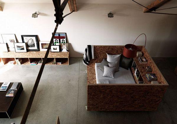 Bed box Interior Pinterest Möbel, Selfmade und Büros - ideen attraktive wandgestaltung hinter bett
