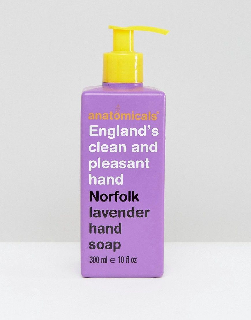 Anatomicals England S Clean And Pleasant Hand Norfolk Lavender