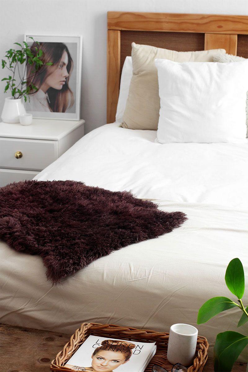 DIY Dyed Sheepskin: How to dye a sheepskin rug – Eclectic Creative