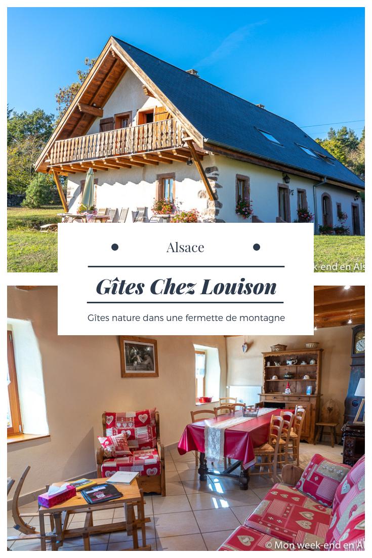 Gites Chez Louison Au Calme Dans Une Fermette De Montagne Mon Week End En Alsace Maison D Hotes Gite Gite De France