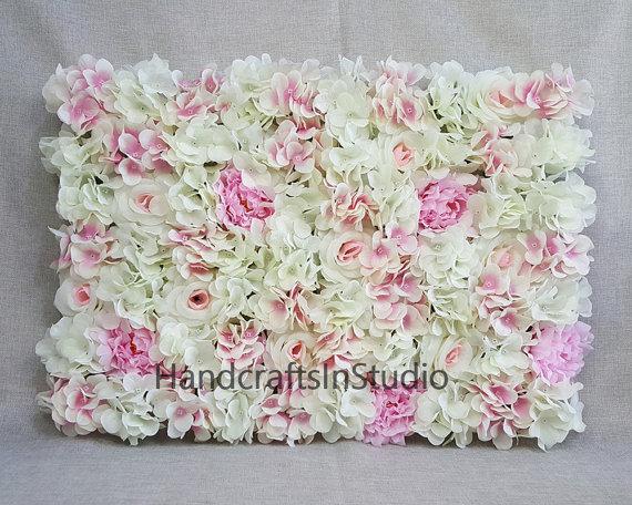 Wedding Flower Wall Backdrops Silk Hydrangea Peony Roses Flower Wall Background For Wedding Photography Silk Flower Panels 40 60cm Cjhq Q005 In 2020 Flower Wall Wedding Flower Wall Backdrop Flower Wall