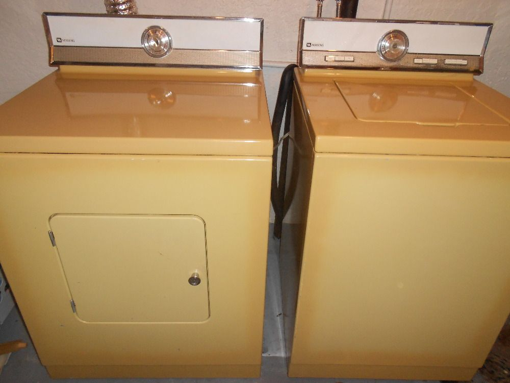 Maytag 1970s Washer And Dryer