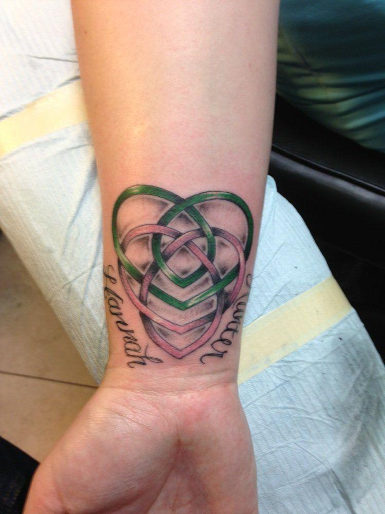 celtic knot celtic motherhood knot with my