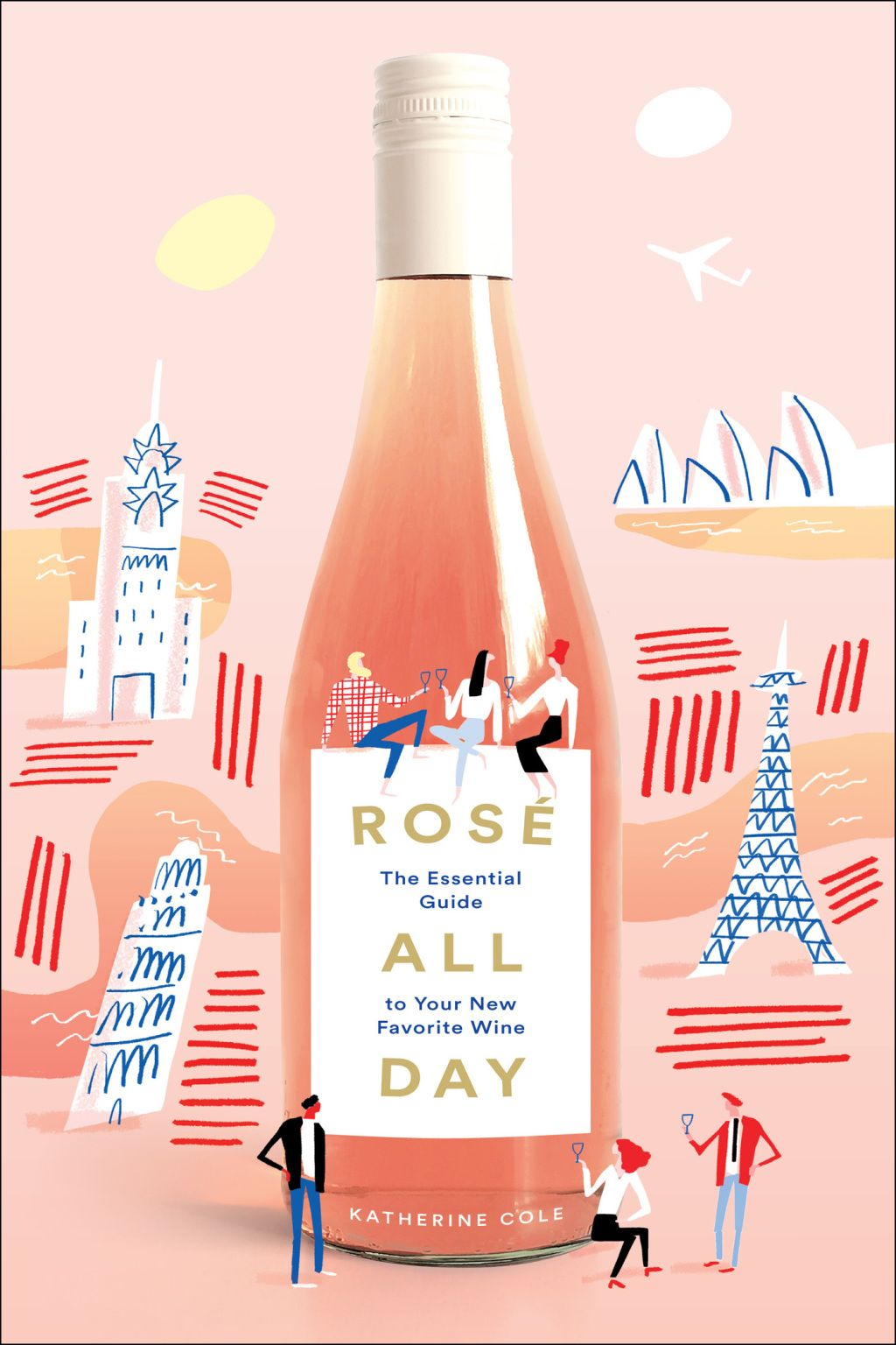 Rosé All Day (eBook) 여행 포스터, 포스터 디자인, 포스터