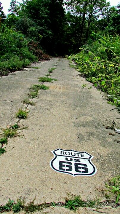 Lost section of Route 66