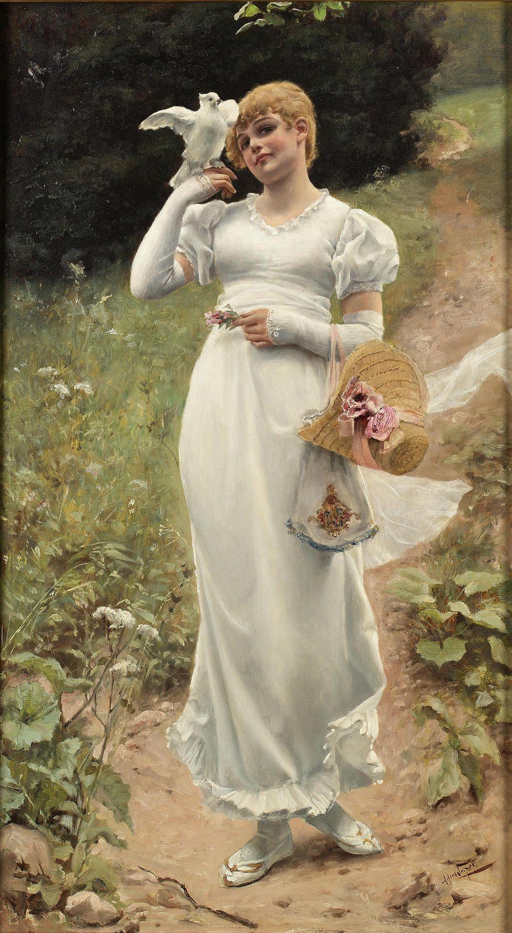 Innocence by Alfred Seifert (german painter)