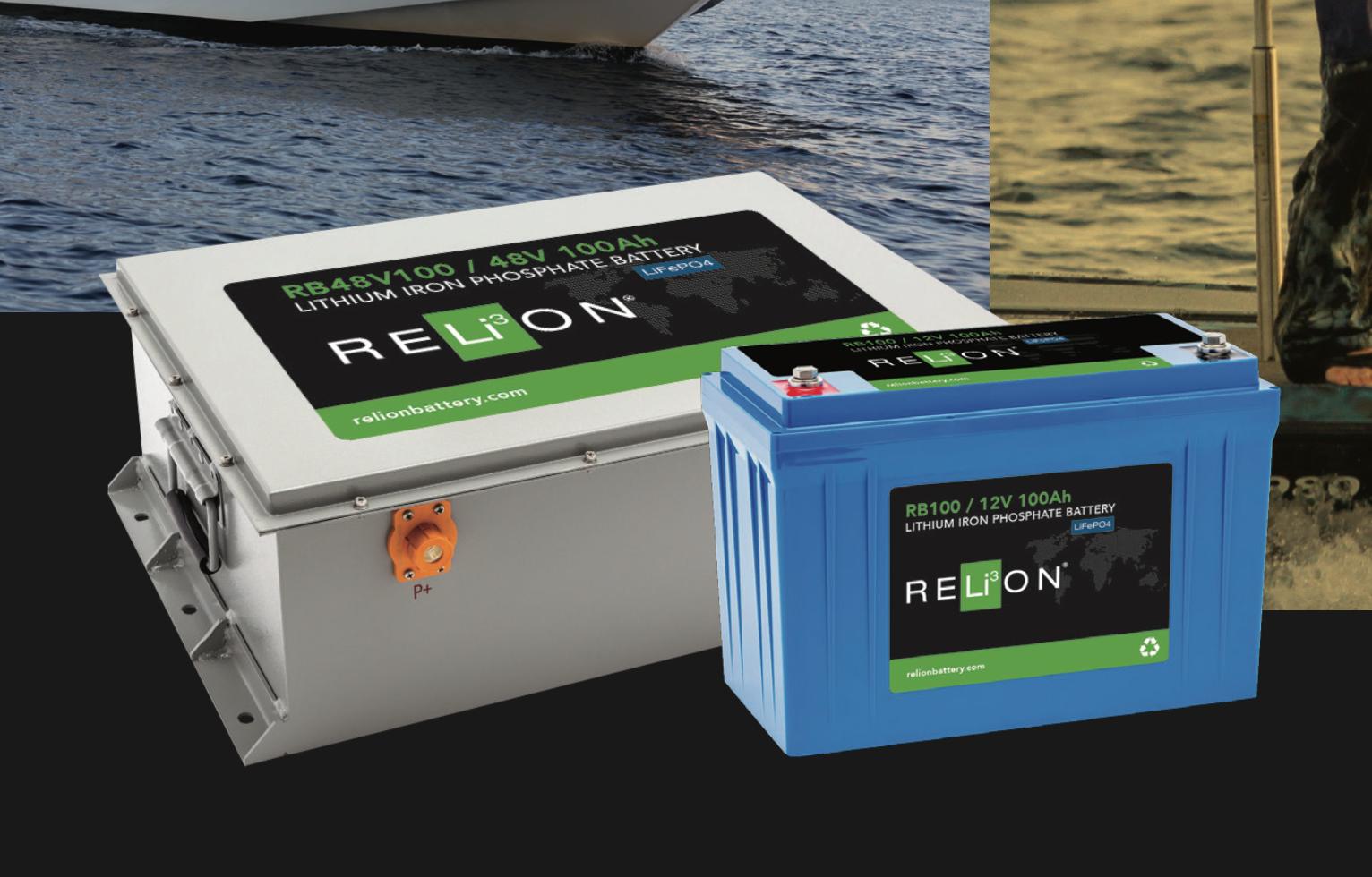 Relion Lithium Ion Marine Batteries Sailing Gear Boat Stuff Sailing